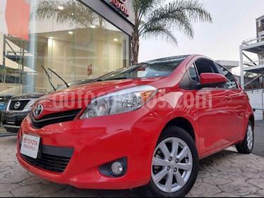Toyota Yaris 5p Hatchback Premium L4/1.5 Aut usado (2014) color Rojo precio $150,000