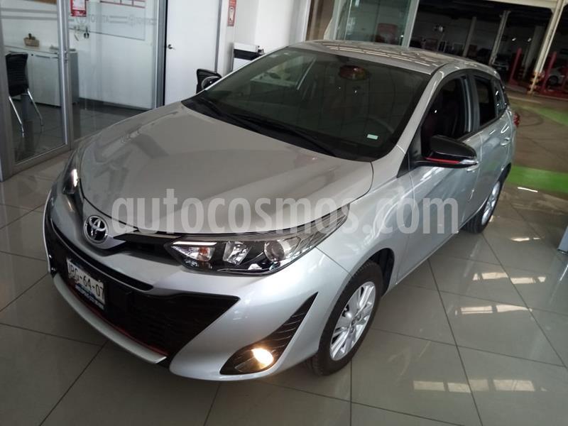 foto Toyota Yaris 5P 1.5L S usado (2018) color Plata precio $229,000