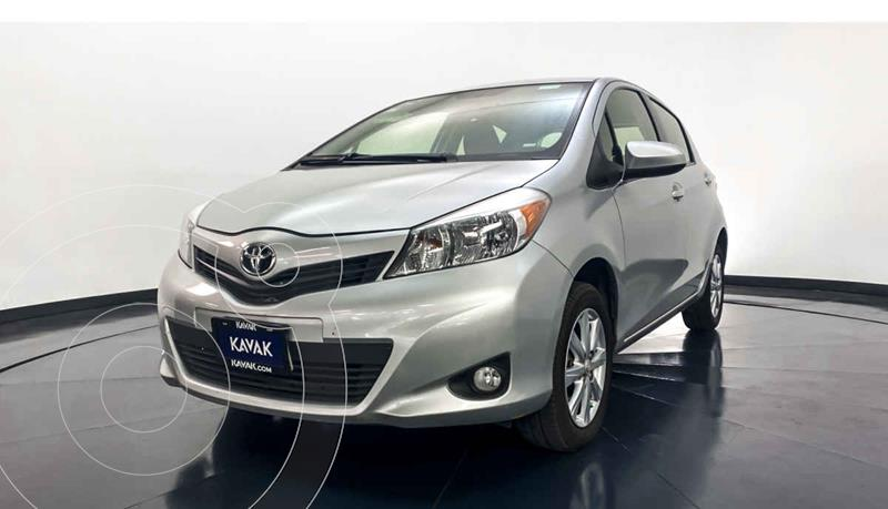 Toyota Yaris 5P 1.5L Premium Aut usado (2014) color Plata precio $154,999