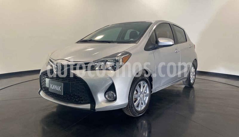 Toyota Yaris Core Aut usado (2015) color Gris precio $177,999