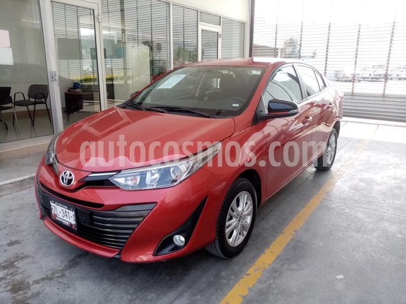 Toyota Yaris 5P 1.5L S usado (2019) color Rojo precio $250,000