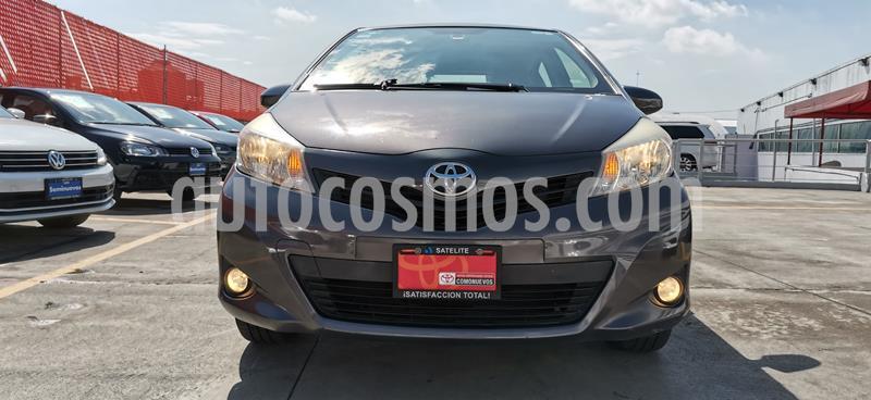 Toyota Yaris 5P 1.5L Premium Aut usado (2013) color Gris precio $149,000
