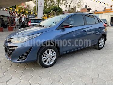 Toyota Yaris 5P 1.5L S usado (2018) color Azul precio $225,000