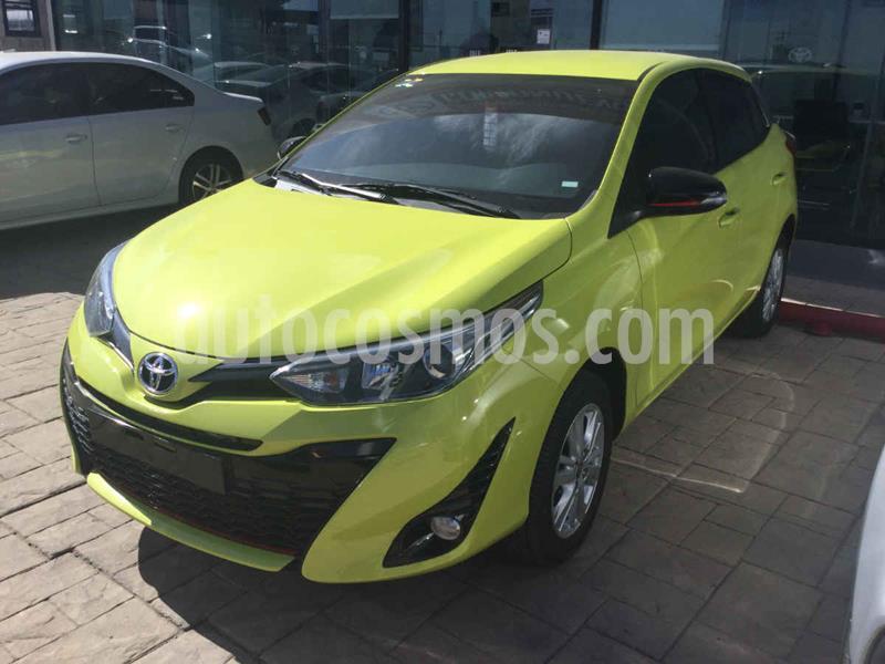 Toyota Yaris 5P 1.5L S usado (2019) color Amarillo precio $265,000