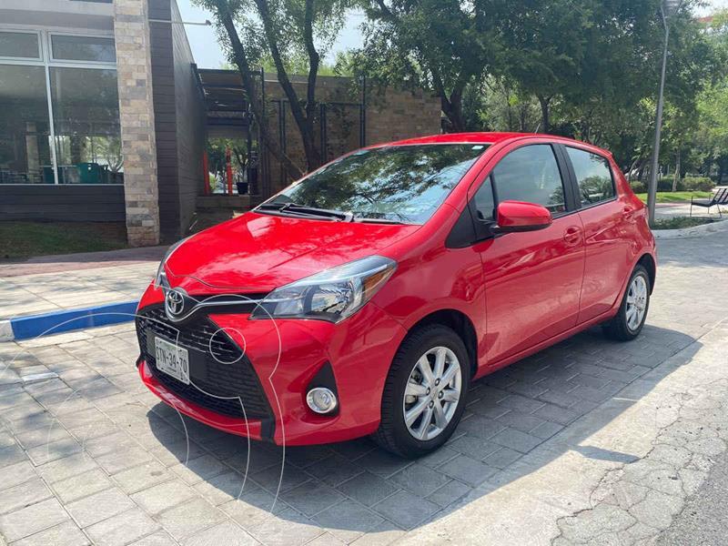 Foto Toyota Yaris 5P 1.5L Premium Aut usado (2016) color Rojo precio $229,900