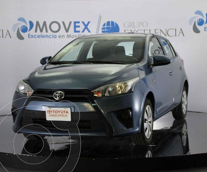 Foto Toyota Yaris 5P 1.5L Core usado (2017) color Azul precio $188,000