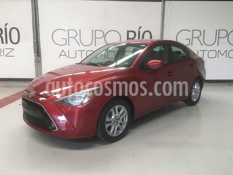 Toyota Yaris XLE Aut usado (2018) color Rojo precio $219,000