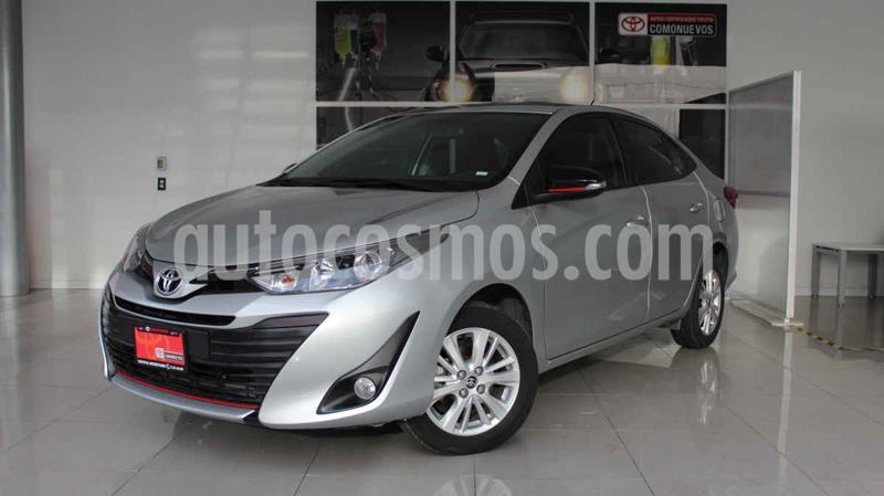 Toyota Yaris S usado (2018) color Plata precio $205,000