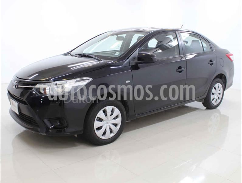 Toyota Yaris Core Aut usado (2017) color Negro precio $160,000