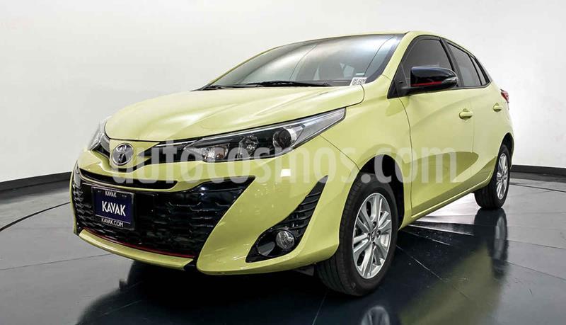 Toyota Yaris 5P 1.5L S Aut usado (2018) color Verde precio $234,999