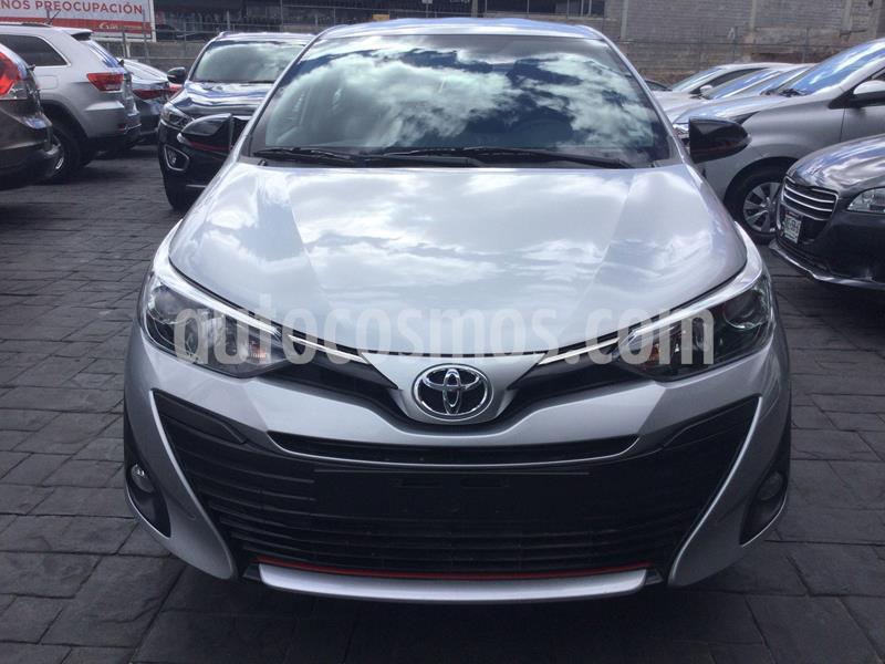 Toyota Yaris 5P 1.5L S usado (2020) color Plata Dorado precio $258,000