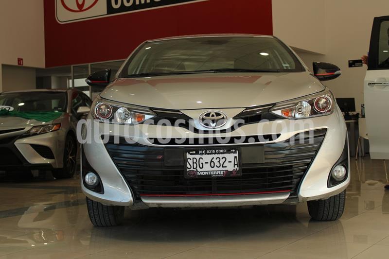 Toyota Yaris 5P 1.5L S usado (2019) color Plata Dorado precio $250,000