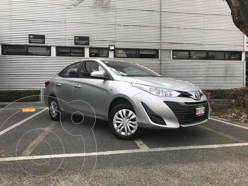 Toyota Yaris 5P 1.5L Core usado (2019) color Plata Dorado precio $205,000