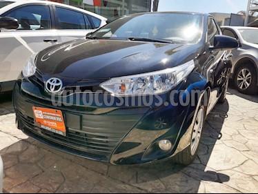 foto Toyota Yaris 4p Sedán Core L4/1.5 Man usado (2019) color Negro precio $198,000