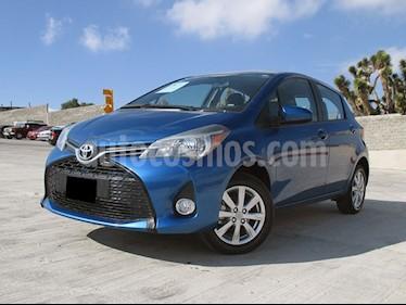 Toyota Yaris 5P 1.5L S usado (2015) color Azul precio $168,000