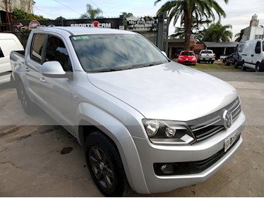 Foto venta Auto usado Volkswagen Amarok - (2015) color Gris precio $810.000