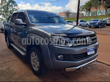 Foto venta Auto usado Volkswagen Amarok - (2015) color Gris precio $815.000