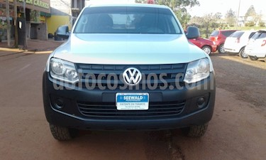Volkswagen Amarok - usado (2012) color Gris Plata  precio $830.000