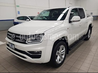 Foto venta Auto usado Volkswagen Amarok 4p Highline L4/2.0/TDI 4Mot Aut (2018) color Blanco precio $595,000