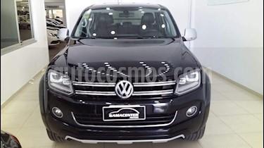 Volkswagen Amarok DC 4x4 Ultimate Aut usado (2015) color Negro precio $1.170.000