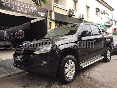 Volkswagen Amarok DC 4x4 Dark Label  usado (2011) color Negro precio $850.000