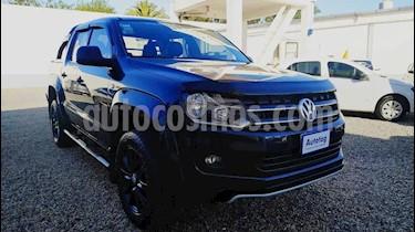 Volkswagen Amarok DC 4x2 Dark Label Aut  usado (2015) color Negro Profundo precio $1.280.000
