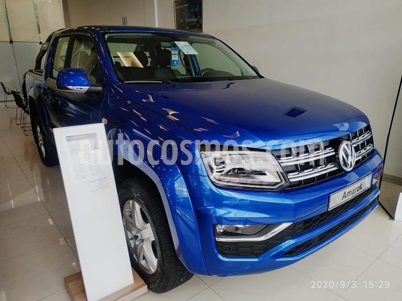 Volkswagen Amarok DC 4x2 Highline Aut nuevo color Azul Starlight precio $4.359.900