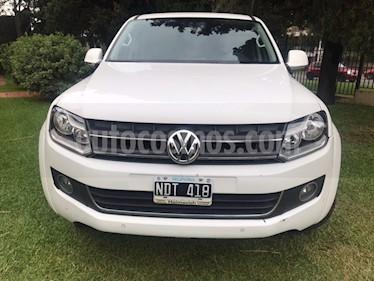 Volkswagen Amarok DC 4x4 Highline Pack (180Cv) usado (2013) color Blanco precio $1.120.000