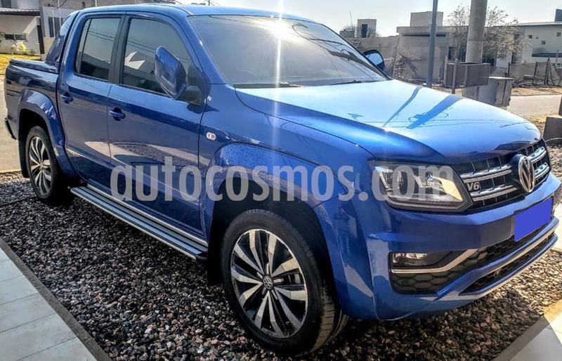 Volkswagen Amarok DC 4x4 Extreme V6 Aut usado (2020) color Azul precio $4.800.000