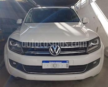 Volkswagen Amarok DC 4x4 Trendline (180Cv) Aut usado (2016) color Blanco precio $2.300.000