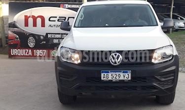 Volkswagen Amarok DC 4x4 Startline (140Cv)   usado (2017) color Blanco precio $1.450.000