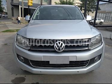 Volkswagen Amarok DC 4x4 Highline Pack (180Cv) Aut usado (2011) color Gris Claro precio $1.150.000
