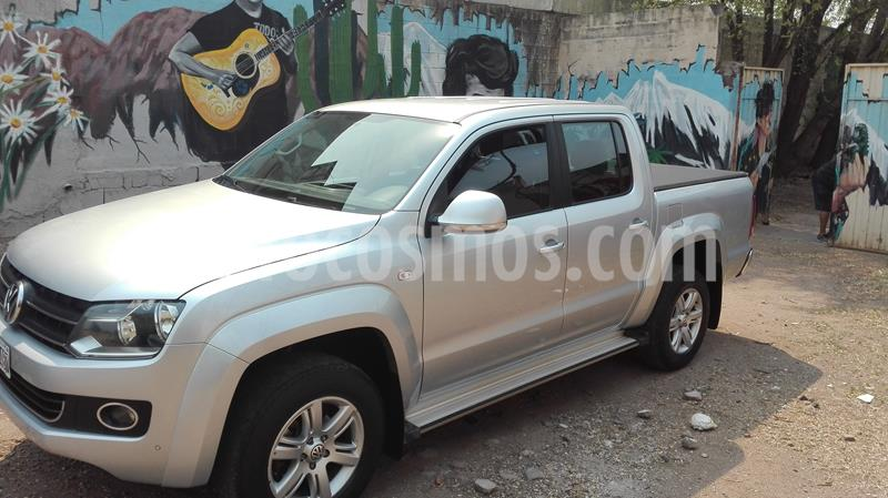 Volkswagen Amarok DC 4x2 Highline (180Cv) usado (2013) color Gris Off-Road precio $1.950.000