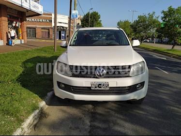 Volkswagen Amarok DC 4x2 Trendline (180Cv) usado (2014) color Blanco Cristal precio $1.150.000