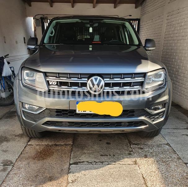 Volkswagen Amarok DC 4x4 V6 Aut usado (2016) color Gris Oscuro precio $4.200.000