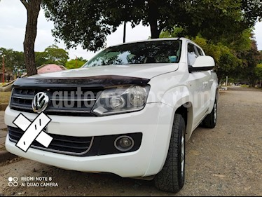 Volkswagen Amarok DC 4x2 Highline Pack (180Cv) usado (2011) color Blanco Candy precio $1.150.000