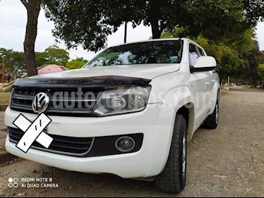 Volkswagen Amarok DC 4x2 Highline Pack (180Cv) usado (2011) color Blanco Candy precio $1.150.000