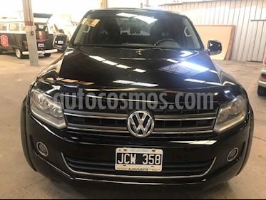 Volkswagen Amarok DC 4x4 Highline Pack (180Cv) usado (2010) color Negro precio $850.000