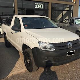 Volkswagen Amarok - usado (2014) color Blanco precio $1.000.000