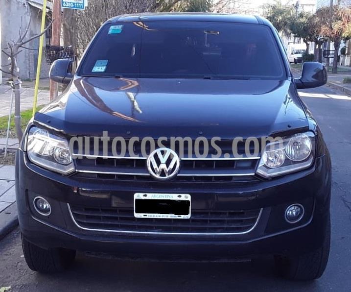 Volkswagen Amarok DC 4x4 Trendline (180Cv) usado (2014) color Negro Profundo precio $1.500.000