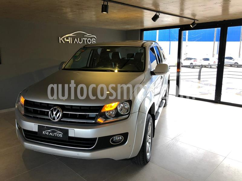 Volkswagen Amarok DC 4x4 Highline Pack (180Cv) Aut usado (2013) color Plata precio u$s14.485