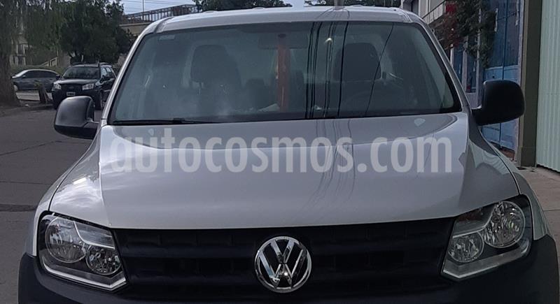 Volkswagen Amarok DC 4x2 Trendline usado (2017) color Gris precio $2.400.000