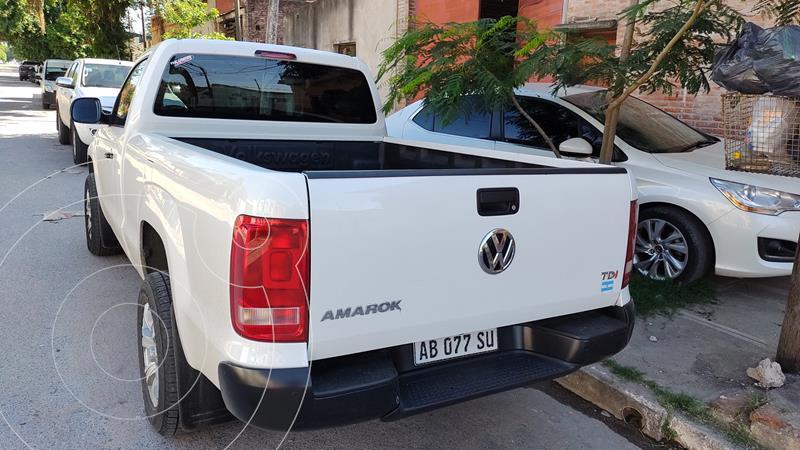 Volkswagen Amarok SC 4x2 Trendline usado (2017) color Blanco precio $2.250.000
