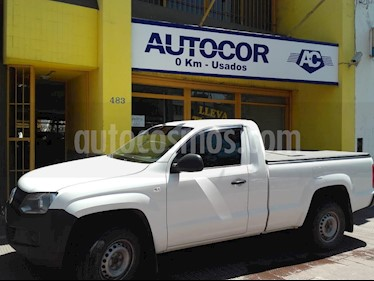 Volkswagen Amarok SC 4x2 Startline  usado (2015) color Blanco precio $880.000
