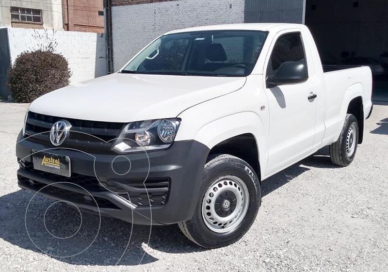 Foto Volkswagen Amarok SC 4x2 Trendline usado (2018) color Blanco precio $1.700.000