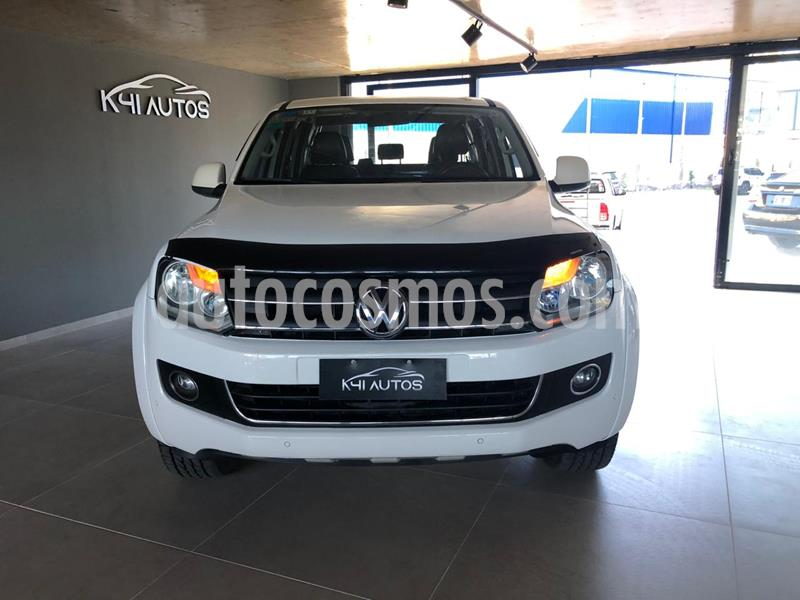 Volkswagen Amarok DC 4x2 Highline Pack usado (2013) color Blanco Candy precio $2.090.000