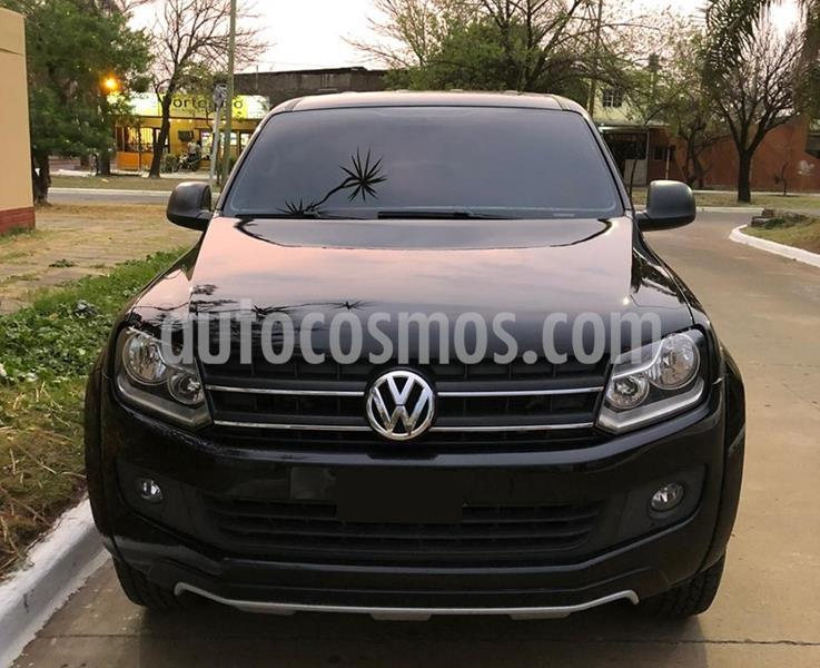 Volkswagen Amarok DC 4x4 Dark Label Aut  usado (2015) color Negro Profundo precio $2.250.000