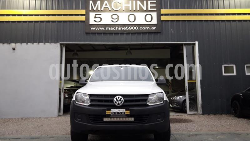 Volkswagen Amarok SC 4x2 Startline  usado (2015) color Blanco precio $1.300.000