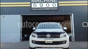 Volkswagen Amarok DC 4x4 Trendline (180Cv) Aut usado (2016) color Blanco precio $1.590.000
