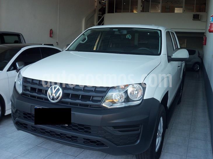 Volkswagen Amarok 2.0 Tdi C/doble Trendline 4x2 usado (2018) color Blanco precio $2.490.000